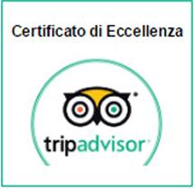 Trip Advisor Certificato Eccellenza